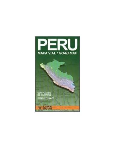 Peru autótérkép