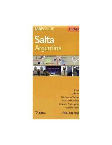Salta Argentina térkép és ismertető
