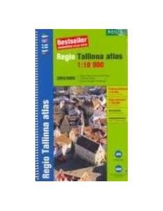 Tallinn és környéke atlasz