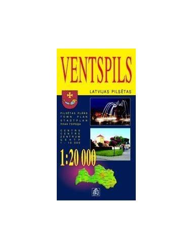 Ventspils térkép
