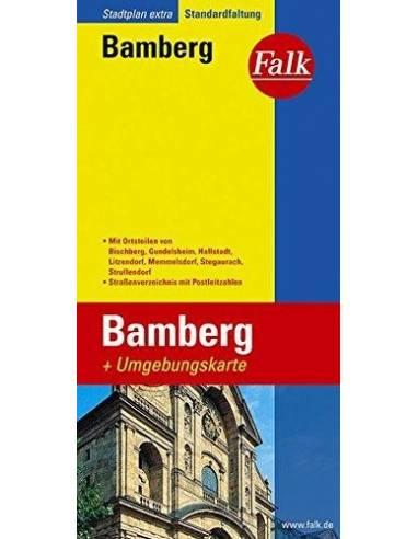 Bamberg és környéke Extra várostérkép
