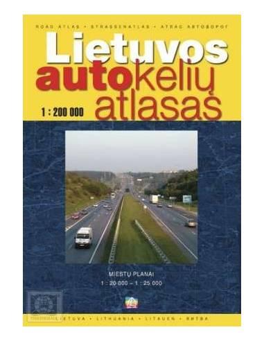 Lietuvos - Litvánia és városai atlasz