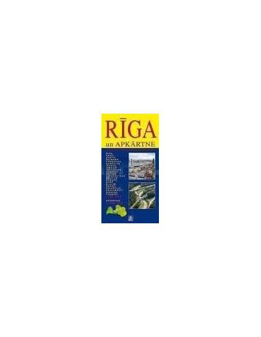 Riga és környéke atlasz