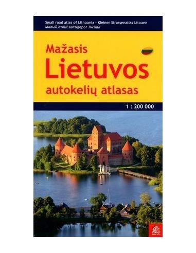 Lietuvos autokeliu atlasas - Litvánia...