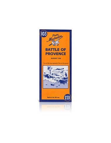 MN 103 Battle of Provance térkép -...