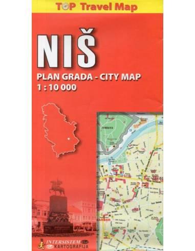 Niš térkép Top - Travel Map