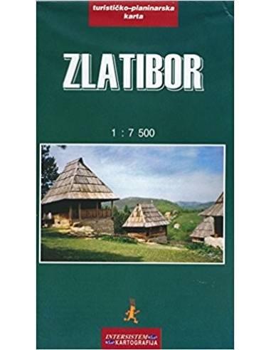 Zlatibor térkép