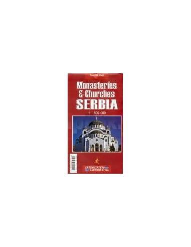 Szerbia és Montenegró monostorai és...
