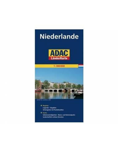 Hollandia - Niederlande térkép