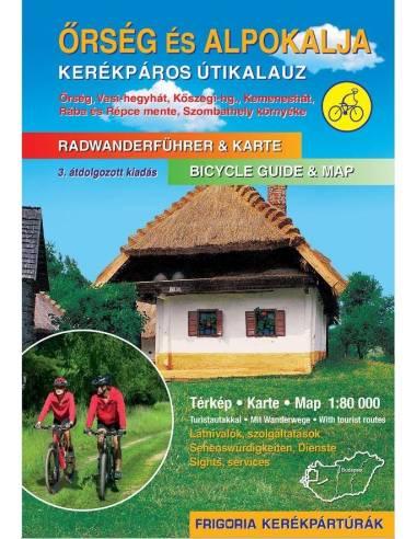Őrség és Alpokalja kerékpáros atlasz...