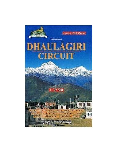 Dhaulágiri Circuit térkép