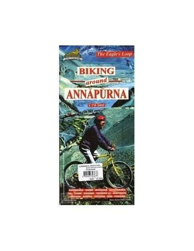 Annapurna Körút kerékpáros térkép