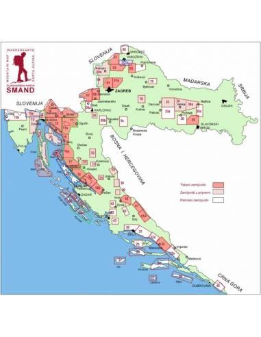 S 19 Paklenica Nemzeti Park térkép