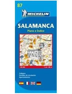MN 87 Salamanca várostérkép