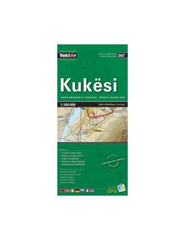 Kukesi autós túristatérkép (367)...