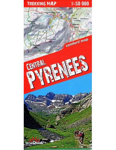 Central Pyrenees Comfort! Map térkép...