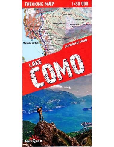 Lake Como trekkin comfort! map -...