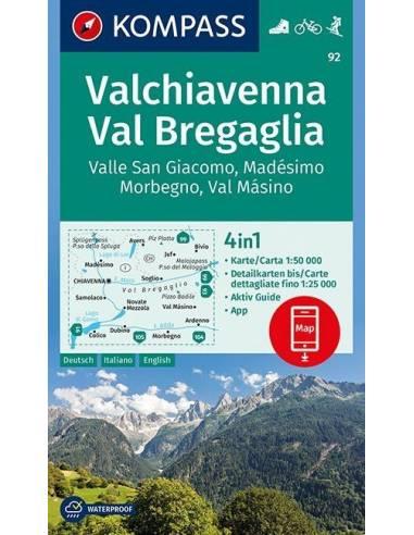KK 92 Valchiavenna - Val Bregaglia,...