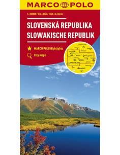 Szlovákia térkép - Marco Polo