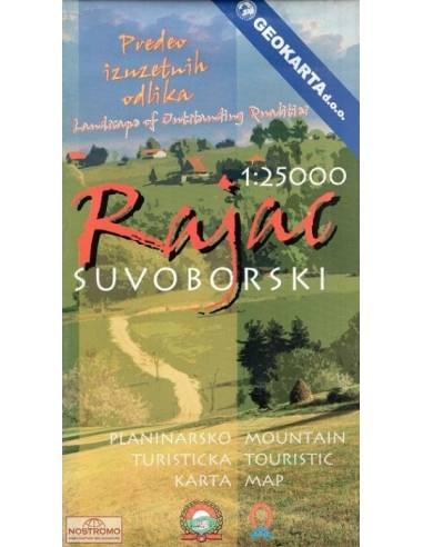 Rajac - Suvoborski turistatérkép