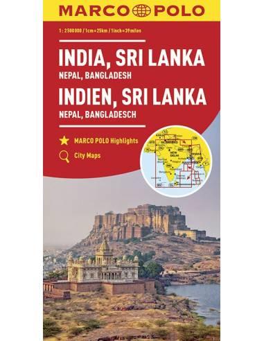 India, Sri lanka, Nepál, Banglades...