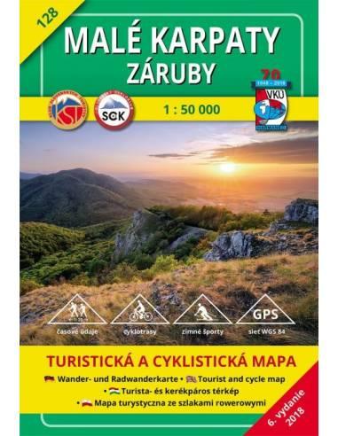 TM 128 Kis-Kárpátok turistatérkép -...