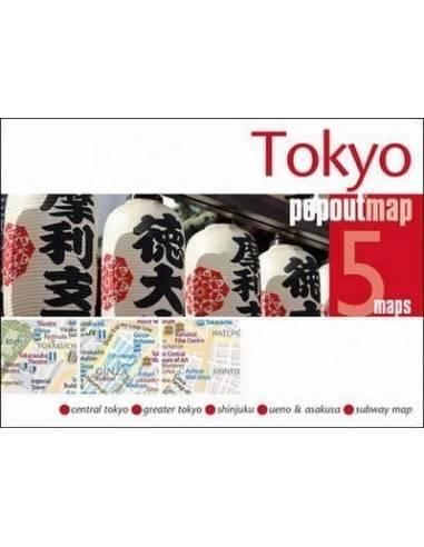 Tokyo popoutmap - Tokió várostérkép