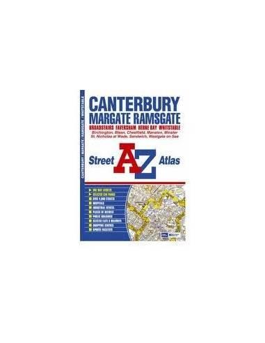 Canterbury / Margate / Ramsgate atlasz