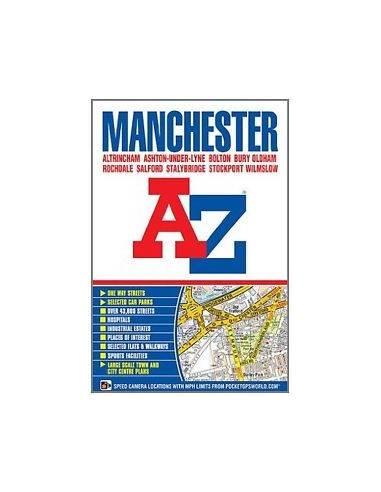 Manchester atlasz (A-Z) kötött