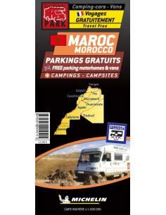 Marokkó lakókocsival térkép...