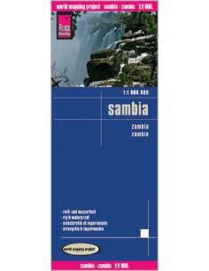 RKH Sambia - Zambia térkép