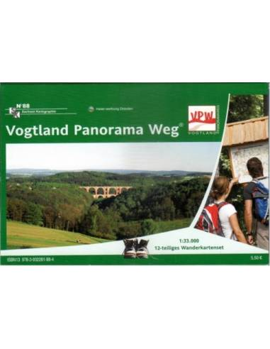 SK88 Vogtland panoráma útjai