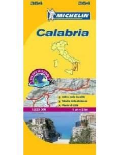 MN 364 Calabria térkép