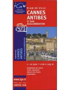 Cannes, Antibes térkép