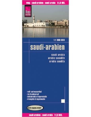 RKH Saudi-Arabien (Szaúd-Arábia) térkép
