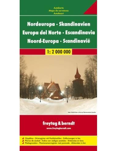 Európa-észak / Skandinávia térkép