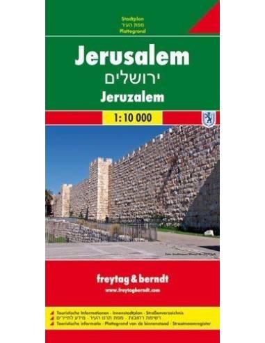 Jeruzsálem térkép