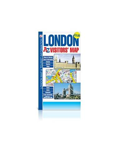 London visitor's map - London térkép