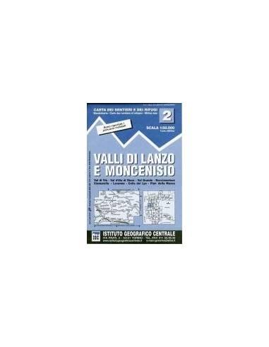 IGC 2 Valli di Lanzo e Moncenisio Térkép