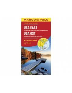 USA East - Usa kelet térkép...