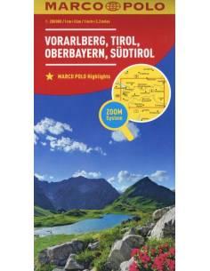 Vorarlberg, Tirol,...