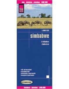 RKH Simbabwe - Zimbabwe térkép