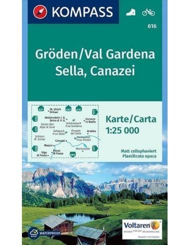 KK 616 Gröden, Val Gardena, Sella,...