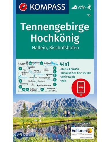 KK 15 Tennengebirge - Hochkönig -...