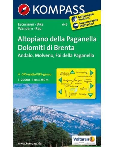 KK 649 ALTOPIANO DELLA PAGANELLA /...