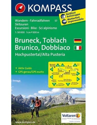 KK 57 Bruneck /Toblach /Hochpustertal...