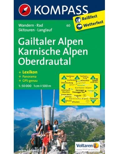 KK 60 Gailtaler Alpok / Karni Alpok /...