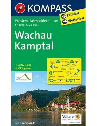 KK 207 Wachau - Kamptal túra- és...