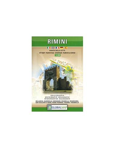 Rimini térkép (Global Map)