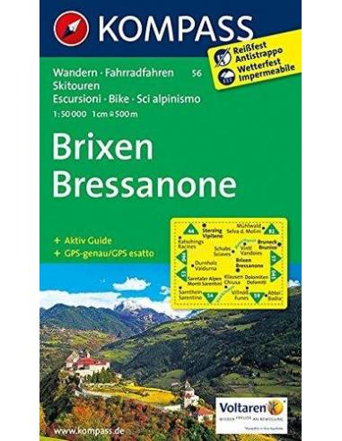 KK 56 Brixen / Bressanone túra-, sí-...